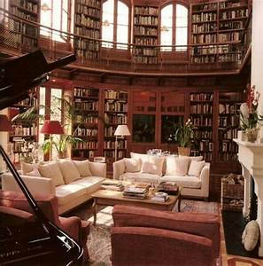 Beautiful home library | Libraries/Reading Spots | Pinterest