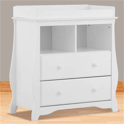 Storkcraft Dresser Change Table by Storkcraft White Carrara 2 Drawer Changing Table Free Shipping