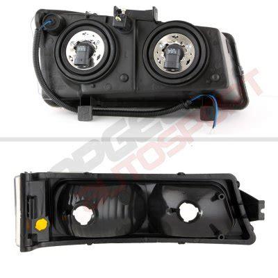 2004 chevy silverado halo lights chevy silverado 3500 2003 2004 black front grille and halo
