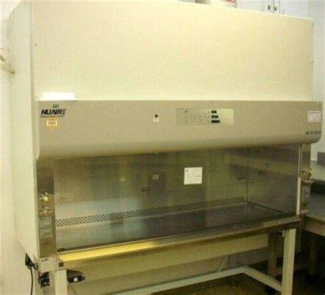 nuaire biological safety cabinet used nuaire nu 435 600 6 foot class ii type b2 biological