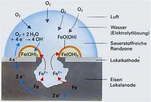 Rost Im Wasser : rosten von eisen allgemeine chemie chemieonline forum ~ Watch28wear.com Haus und Dekorationen