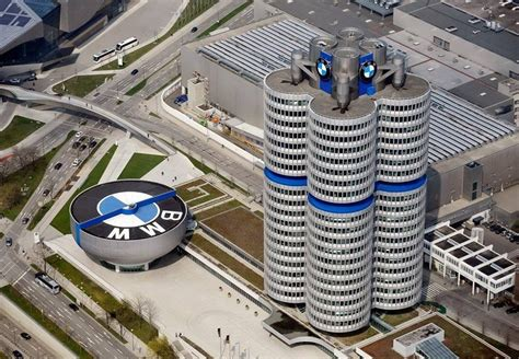bmw siege social bmw headquarters munich germany architecture buildings