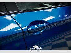 BMW F10 Long Beach Blue Wrap DCM Design