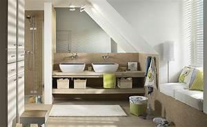 Badezimmer Neu Einrichten : badezimmer mit dachschr ge ~ Michelbontemps.com Haus und Dekorationen