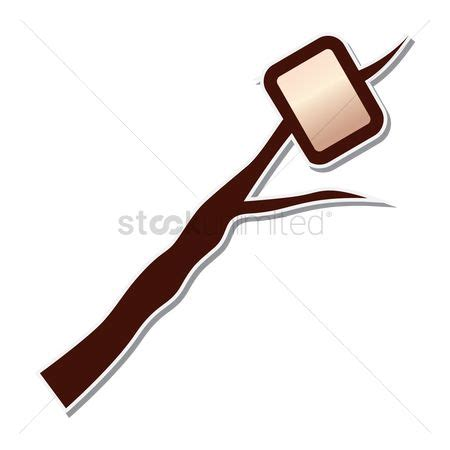 marshmallow on a stick clipart free shashlik stock vectors stockunlimited