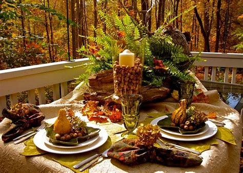 thanksgiving outdoor table decorations 21 diy thanksgiving decorations and centerpieces savoring