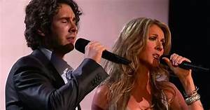 Josh Groban and Celine Dion Sing A Heavenly Duet Of 'The ...