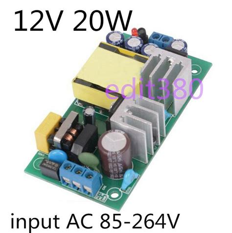 Ac Dc Wandler by Ac Dc Wandler Ac 230v To 12v 20w Switching Power Supply