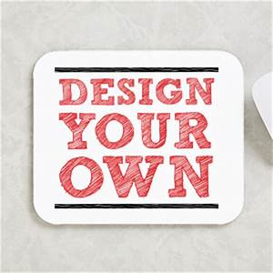 Design your own custom mouse pad for Design your own pictures