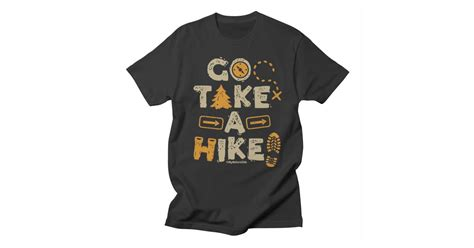 Mynatureside Go-take-a-hike Mens T-shirt