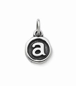 vintage type charm james avery With letter c charm james avery