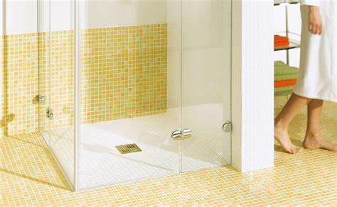 Ebenerdige Dusche Und Duschwannen by Duschkabine F 252 R Ebenerdige Dusche Eckventil Waschmaschine