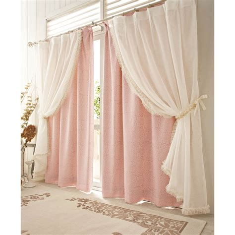Pink Ruffle Curtains Uk by 10 Best Ideas About Voile Curtains On