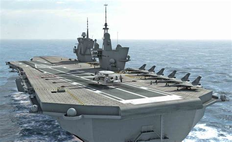 la et ses futurs porte avions mer et marine