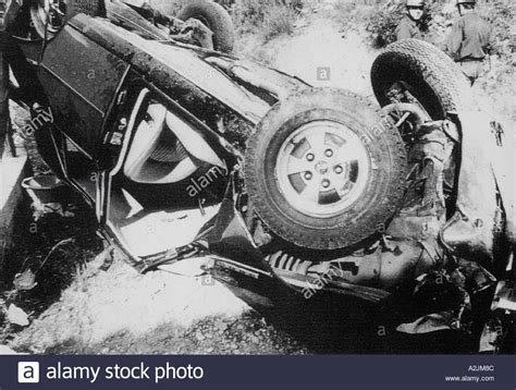 actress grace kelly death grace kelly the smashed car in which the film actress and