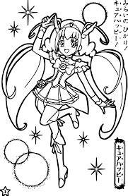 glitter force coloring pages  printable coloring
