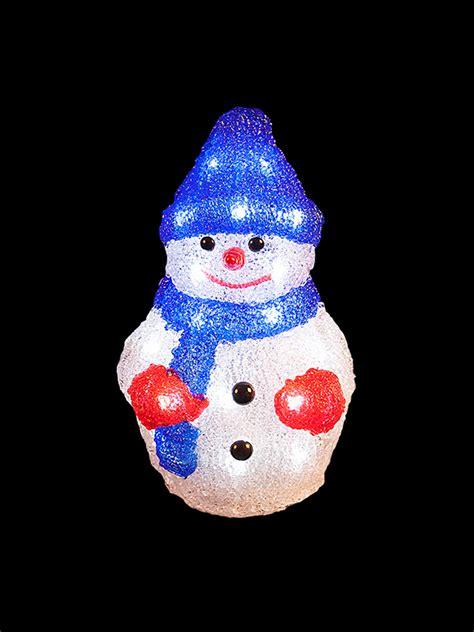 light  acrylic santa snowman reindeer christmas outdoor