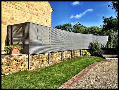Slatted Fence Panels Contemporary Pine Treated Panel