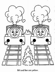 Free Thomas The Train Coloring Pages - Coloring Home