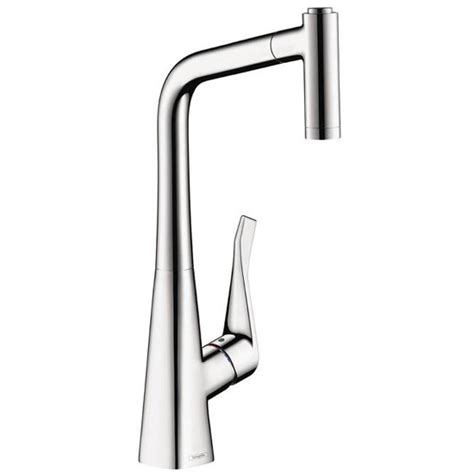 Hansgrohe Metris Kitchen Faucet by Hansgrohe 14820001 Metris Kitchen Pull Out Faucet Chrome