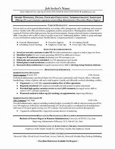 great administrative assistant resumes administrative With resume templates for administrative positions