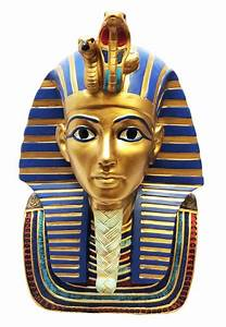 Ancient Egyptian 9 Inch Height King Tut Burial Mask Bust ...  Egyptian
