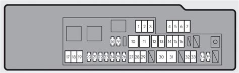 06 I 250 Fuse Box Diagram by Lexus Gs250 2013 2015 Fuse Box Diagram Auto Genius