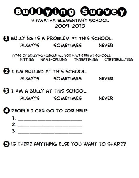 middle school bullying worksheets worksheets for all