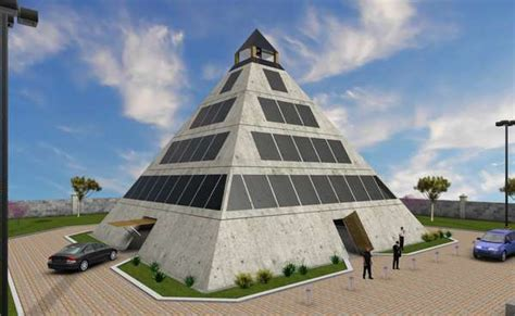 disaster safe pyramids architecture  extreme safety measures built