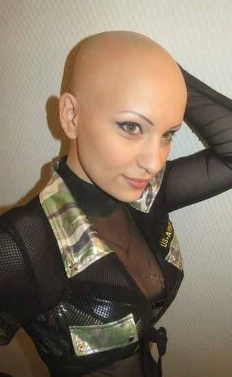 ladies ultra short haircuts kahle frauen coole