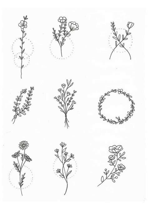 #flowers #tattoos #ink #floraltattoo #femininetattoo | Wildflower tattoo, Little tattoos, Small