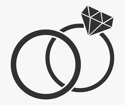 Ring Clipart Diamond Weddings Clipartkey