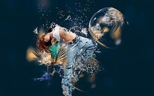 Adobe, Photoshop, Photo, Manipulation, Dancing, Wallpapers, Hd