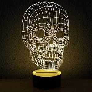Modern Acrylic 3D LED Table Lamp 11966 : Free Ship! Browse