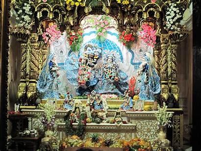 Krishna Vrindavan Radha Mandir Balaram Temples Commons