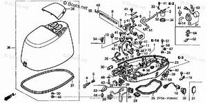 Honda Outboard Parts By Hp  U0026 Serial Range 50hp Oem Parts