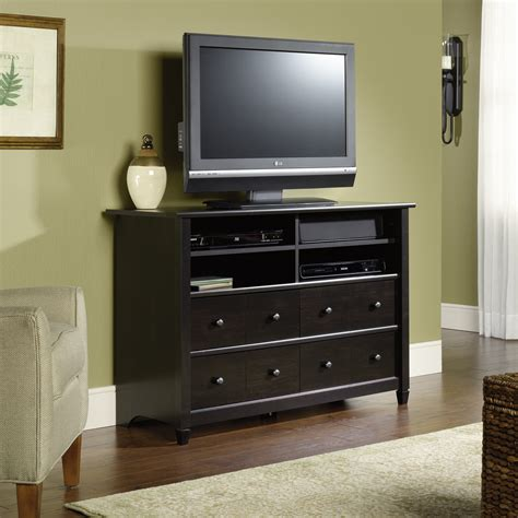 edge water highboy tv stand 409242 sauder