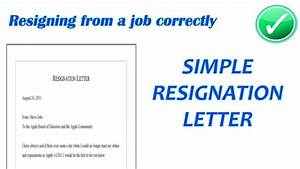 Resignation Letter Examples Tagalog