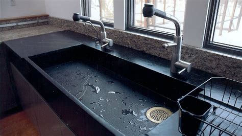 cuisine professionnelle occasion get stoned 11 extraordinary kitchen sinks produced from