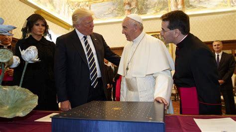 Primeiro Encontro Entre Papa E Trump é Marcado Por Tensão