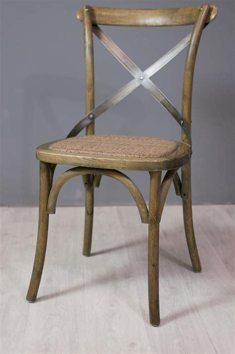 chaise bistrot metal assise et fauteuil chaise bistrot en chêne et métal