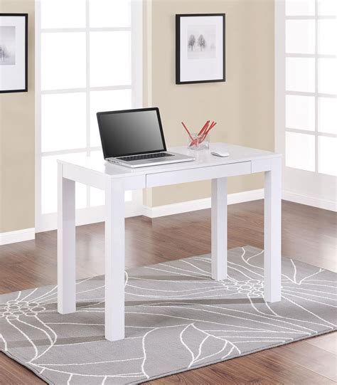 parsons desk with drawers white hostgarcia