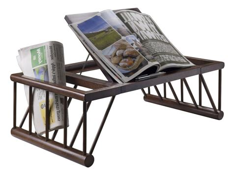 Breakfast In Bed Tray Lap Wood Desk Table Food Handsome