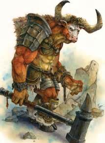 Greek Mythical Creatures Minotaur