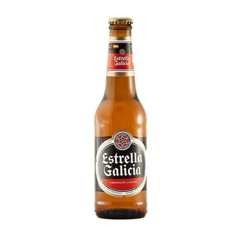 estrella galicia spanish beer ml case   beers uk