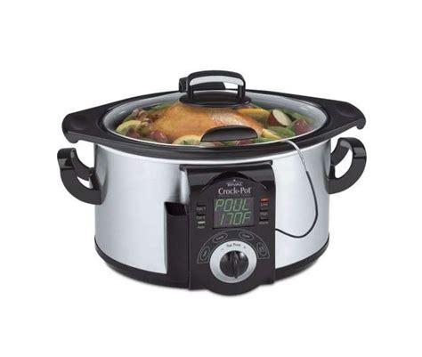 rival scvc600 ss 6 quart crock pot cooker