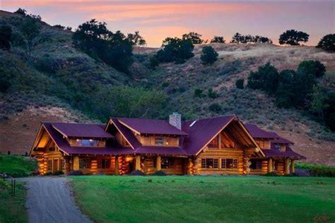 epic log home california luxury homes mansions  sale luxury portfolio