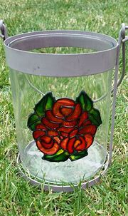 Glass Painting 3d Objects: Easy outlining technique.