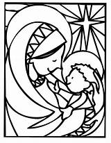 Coloring Christmas Pages Xmas Mary Wallpapers9 Jesus Easy Mother sketch template