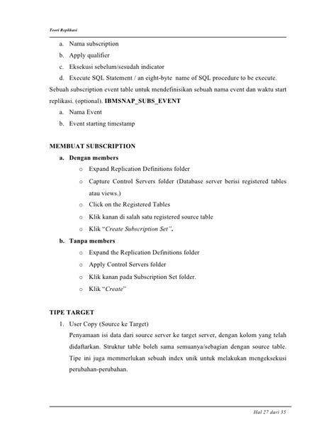 teori replikasi db2 v8 1 dalam bahasa indonesia